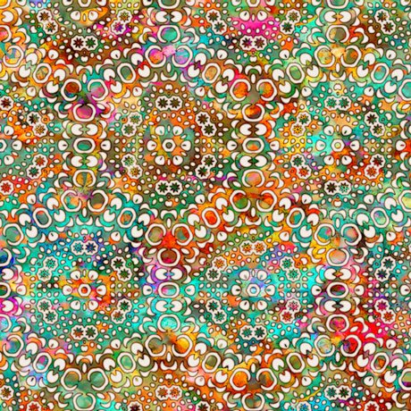 Rhythm Kaleidoscope Tan