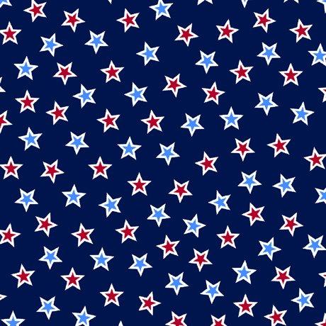 Red, White & Blue Star Toss Navy