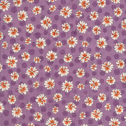 Stitcher's Garden Zinnias Plum 2925-003