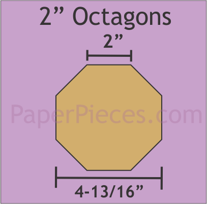 2 Octagons 12 Pieces