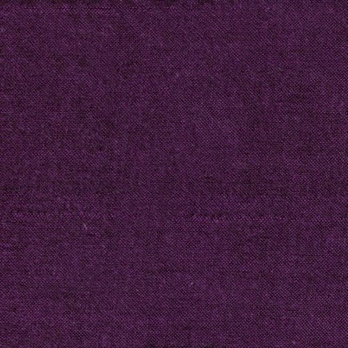 Peppered Cottons Aubergine Wide Backing