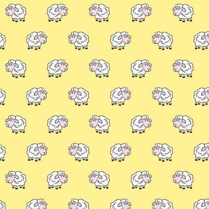 Sheep - 14981 Yellow Flannel
