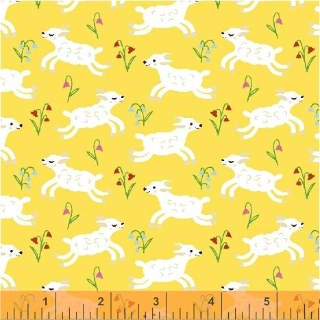 Nursery Rhymes Lambs Yellow 42588 4