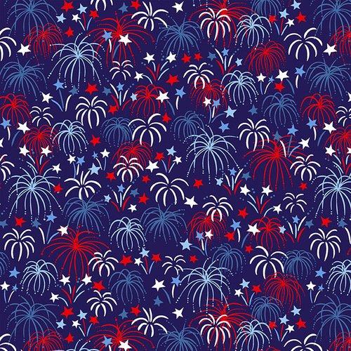 Fireworks Dk Blue