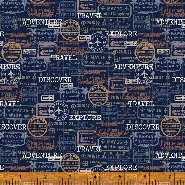 Discover Passport Stamps