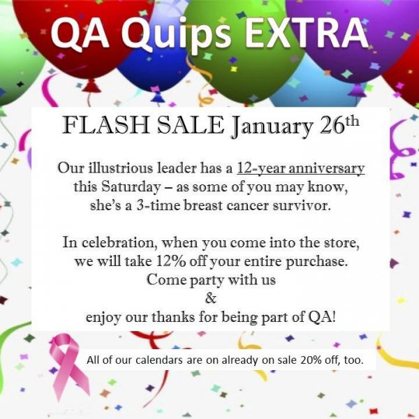 QA Quips Extra