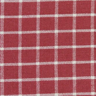 Dunroven House Reverse Windowpane Red