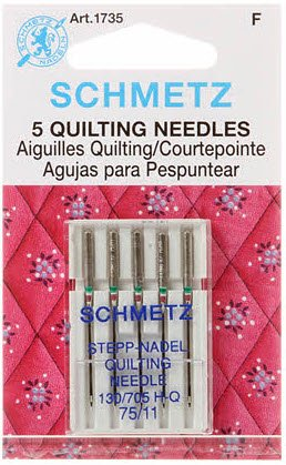Schmetz Machine Quilting Needles 75/11