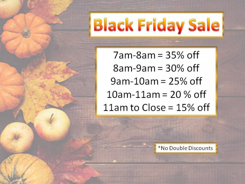 QA Black Friday Sale