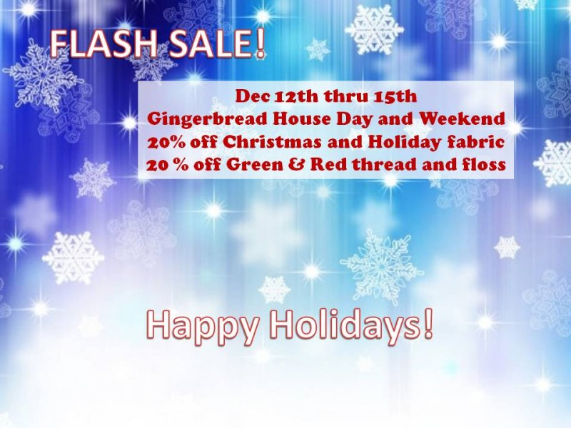 Flash sale Holiday Fabric