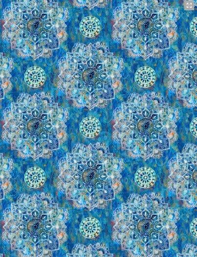 Blue Mandalas 89193-441