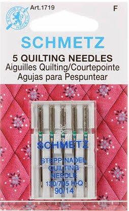 Schmetz Machine Quilting Needles 90/14