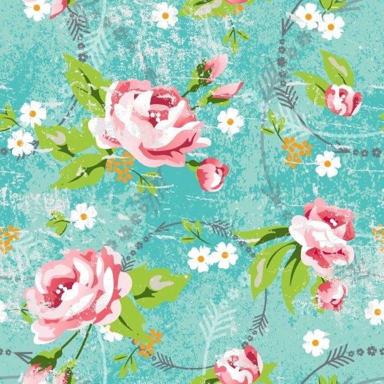 Roses & Arrows - Large Rose Print