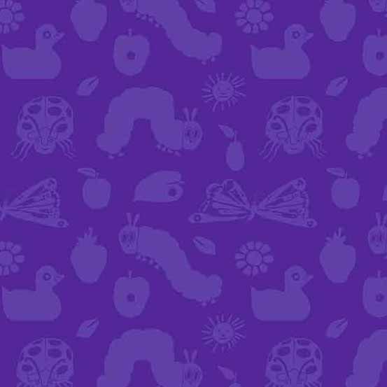 Very Hungry Catepillar 50th Anniv Purple 8939