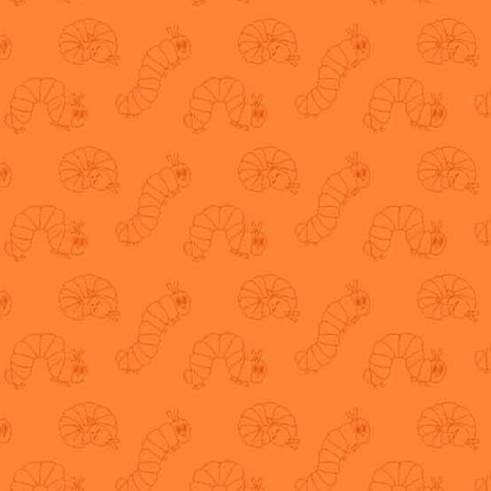 Very Hungry Catepillar 50th Anniv Orange 8940