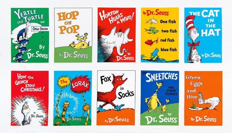 24 Panel Dr. Seuss ADE-15668-267