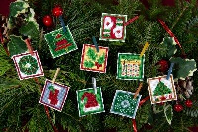 Mini Advent Ornaments Set 2