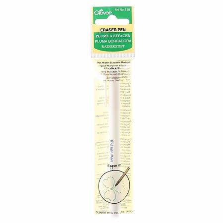 Clover Eraser pen white