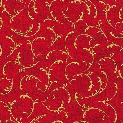 Winter's Grandeur 9 Red Metallic