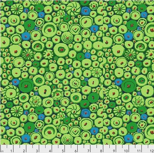 Kaffe Fasset Button Mosaic Green  PWGP182