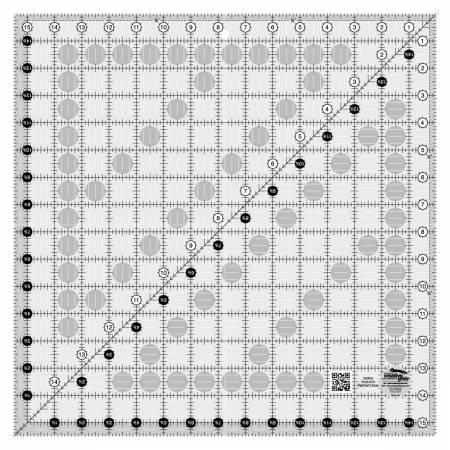 Creative Grids 15 1/2 inch Square Ruler