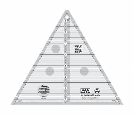 Creative Grids 60 degree (Equilateral) Triangle 8 1/2in
