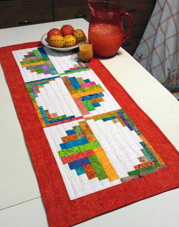 Citrus and Berries Table Runner
