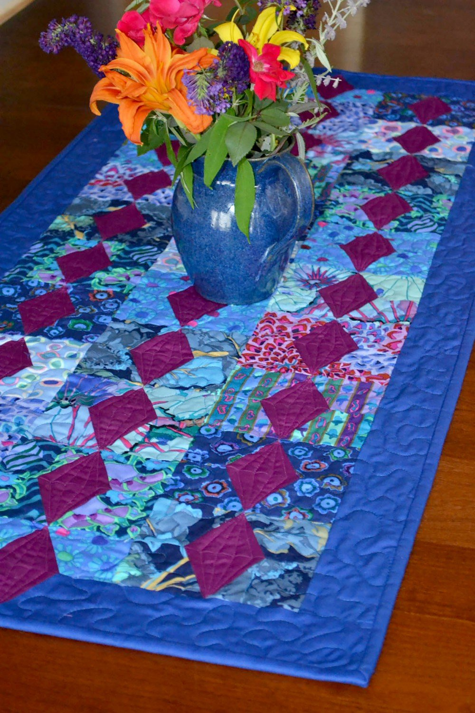 Little Gems Table Runner - Cut Loose Press