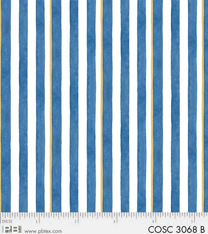 Coastal Kitty Stripe