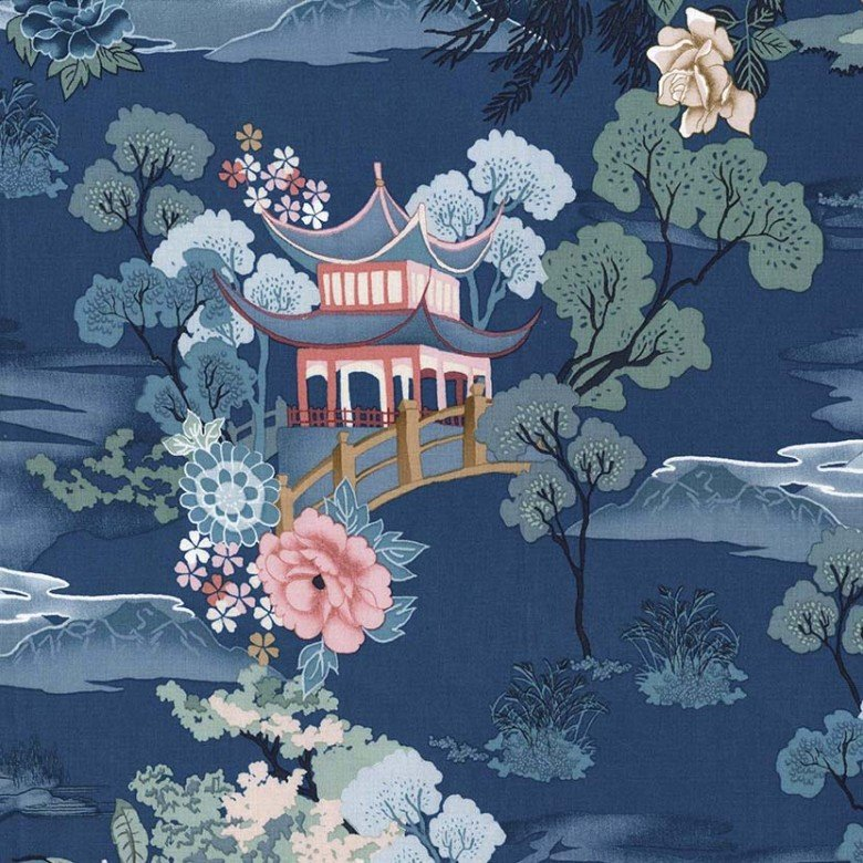 Pagoda Dreams Teal
