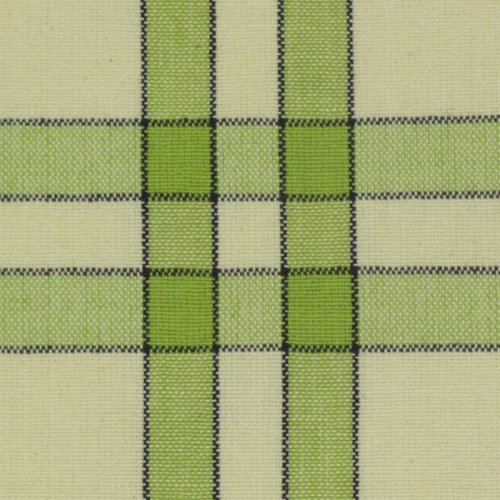 Dunroven House Lime/Cream with Black Stripe