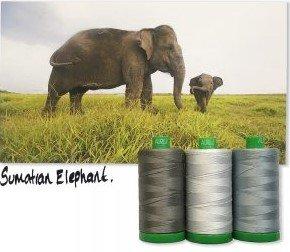 Aurifil Color Builder Mo. 1 Elephant Grey