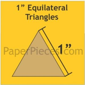 1 Equilateral Triangle 100 Pieces