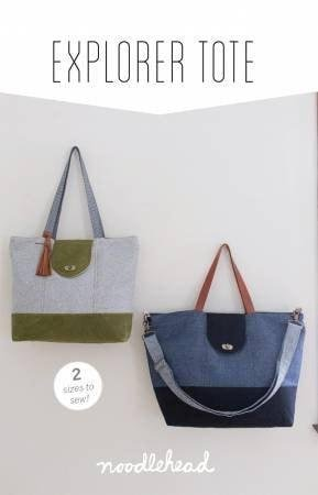 Explorer Tote by Anna Graham