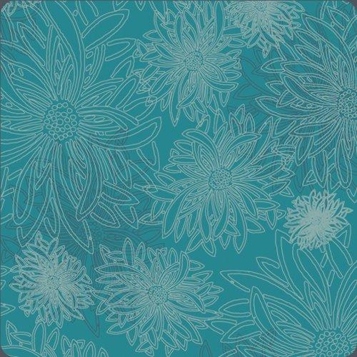 Floral Elements Capri Blue FE-511