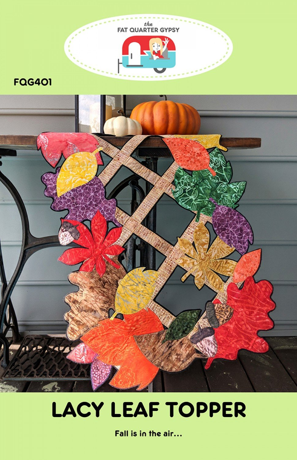 Lacy Leaf Topper