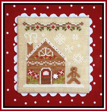 Gingerbread Village - #2 - Girl & Peppermint CCN-GV02