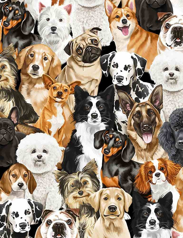 Packed Realistic Dogs