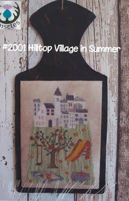 Hilltop Village Summer  Thistles