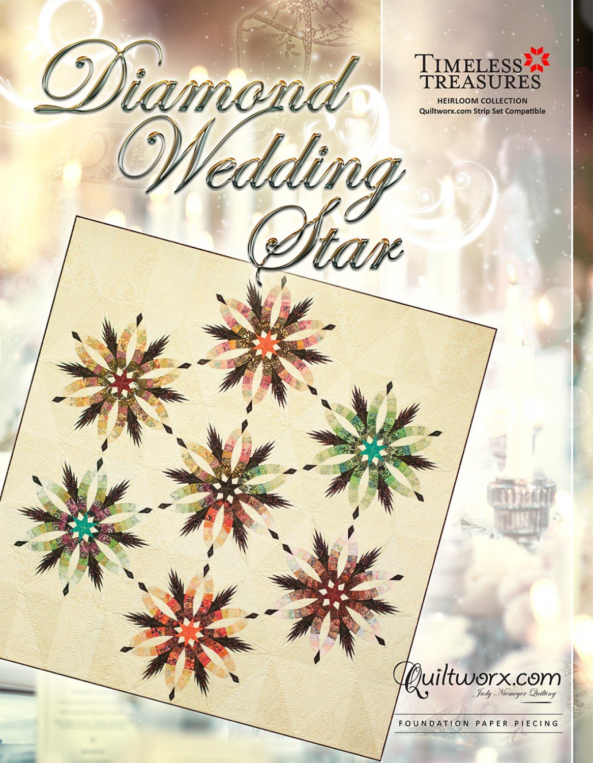Diamond Wedding Star by Judy Neimeyer