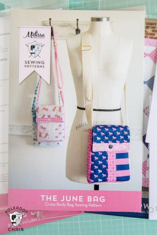 June Bag Melissa Sewing Patterns PDC5355