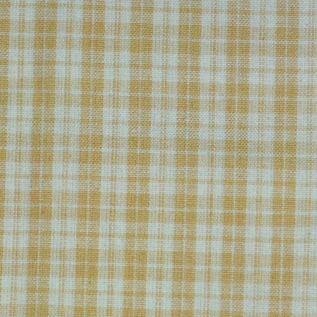 Dunroven House Windowpane Dijon on Cream