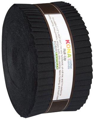 Kona Cotton Roll Up - 40 strips Black