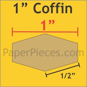 1 Coffin - 100 Pieces