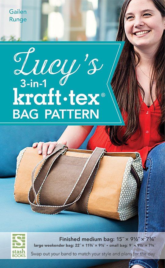Lucy's 3-in-1 Kraft*tex Bag Pattern