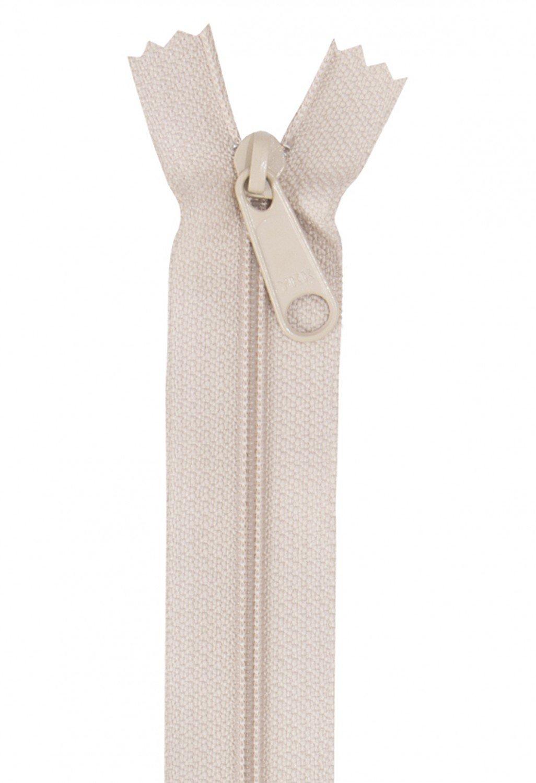 18 Coil Zipper - Natural YKK Ziplon
