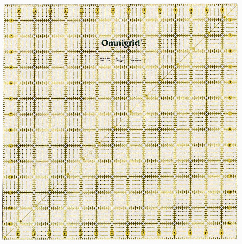 Omnigrid 15 Square Ruler