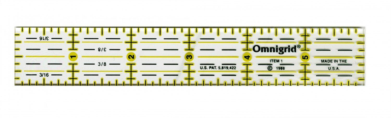 Omnigrid 1 x 6 Ruler