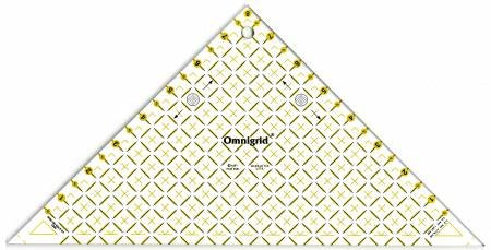 Omnigrid Right Triangle Up To 8 Diagonal