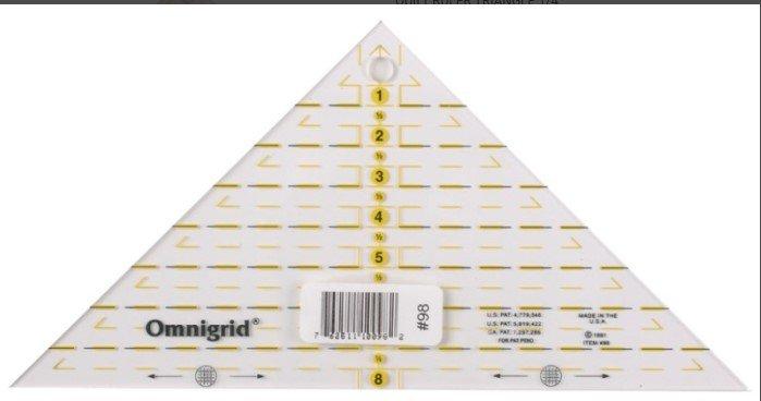 Omnigrid Quarter Square Triangle